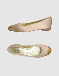 Bagutta Ballet Flats Light Brown