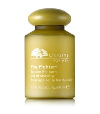 Origins Fire Fighter To Take The Burn Out Of Shaving Male