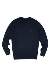 French Connection Auderly Cotton Crew Neck Sea