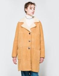 Trademark Shearling In White Natural White