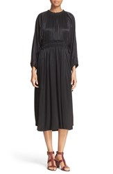Apiece Apart Women's Tassel Tie Midi Dress