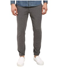Kenneth Cole Flat Front Jogger Pants Flannel Heather Men's Casual Pants Gray