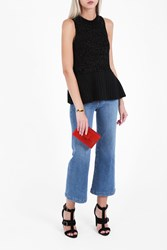 3.1 Phillip Lim Women S Lurex Knit Shell Top Boutique1 Black