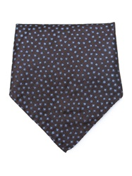 Giorgio Armani Dotted Pocket Square Brown