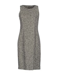 Antonio Fusco Short Dresses Grey