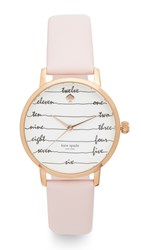 Kate Spade Metro Watch Pink Rose Gold