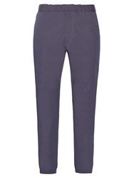 Jil Sander Giovanna Cotton Blend Trousers