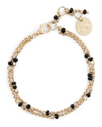 Jaeger Bead And Fine Chain Bracelet
