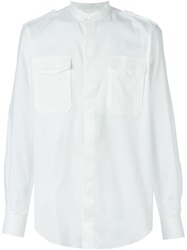 Ports 1961 Military Style Shirt White