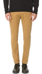 Scotch And Soda Garment Dye Chinos Walnut