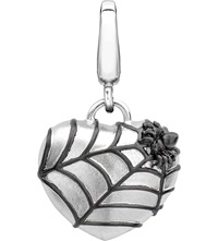 Theo Fennell Alias Spider Web Sterling Silver Charm