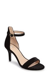 Women's Bp. 'Luminate' Open Toe Dress Sandal Black Velvet