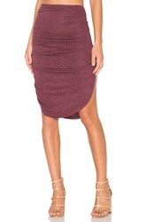 Riller And Fount Mimi Skirt Red