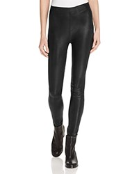 Rag And Bone Jean Sammy Leather Leggings Black