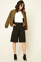 Forever 21 Woven Culottes
