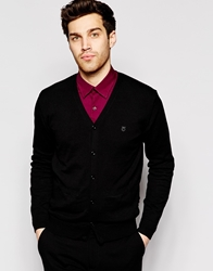 Peter Werth Knitted Cardigan Black