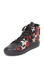 Hilfiger Collection Rock N Roll High Top Sneakers Jet Black Multi