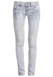 Ltb Molly Slim Fit Jeans Ella Wash Bleached Denim