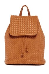 Urban Expressions Hadley Woven Backpack Beige
