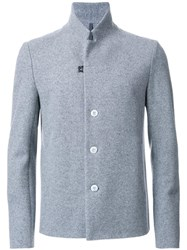 Kazuyuki Kumagai Fitted Jacket Grey