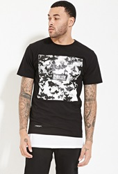Forever 21 Cayler And Sons Thriller Graphic Tee Black White