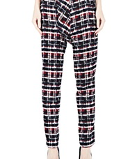 Aganovich Tartan Tweed Pants