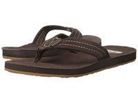 Quiksilver Carver Suede Deluxe Demitasse Solid Men's Sandals Brown