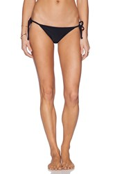 Rvca Tide Tripper Cheeky Bottom Black