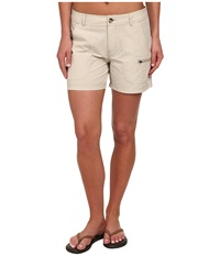 Woolrich Rock Line Shorts Stone Women's Shorts White