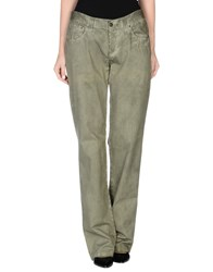 Dandg Trousers Casual Trousers Women Military Green