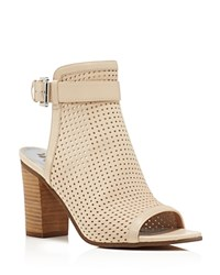 Sam Edelman Emmie Perforated Open Toe Sandals Nude