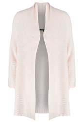 More And More Cardigan Rosy Nude Rose