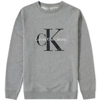 Calvin Klein Ck Reissue Crew Sweat Grey