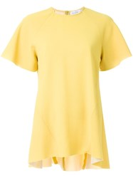 Rebecca Vallance 'Breakers' Oversized T Shirt Yellow Orange