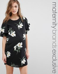 Queen Bee Floral Printed Shift Dress Multi