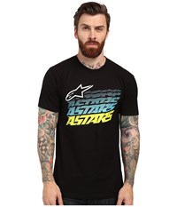 Alpinestars Hashed Tee Black Men's T Shirt