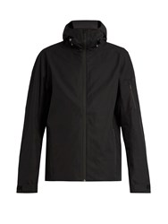 Mover Wool Lined Hooded Ski Jacket Black