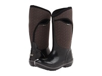 Bogs Herringbone Tall Black Women's Waterproof Boots