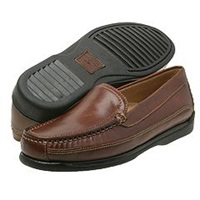 Dockers Catalina Saddle Leather Men's Dress Flat Shoes Brown