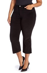 Addition Elle Love And Legend Plus Size Women's Stretch Baby Flare Crop Pants