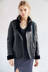Just Female Move Shearling Jacket Green