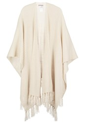 Anna Field Cape Offwhite Off White