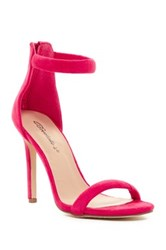 Oppo Swagger Ankle Strap Stiletto Sandal Pink
