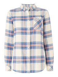 Barbour Tidewater Check Shirt Pink