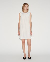 Sara Lanzi Cotton Silk Slip White