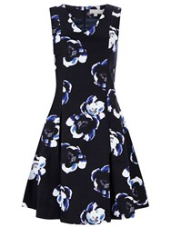 Havren Victoria Fit And Flare Dress Multi Coloured