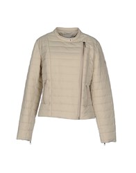 Closed Coats And Jackets Jackets Women Beige