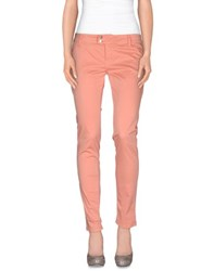Met And Friends Trousers Casual Trousers Women Salmon Pink