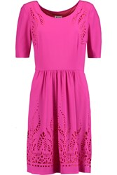 Alice By Temperley Diaghilev Cutout Georgette Dress Pink