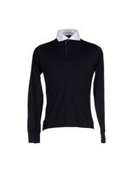 Etiqueta Negra Topwear Polo Shirts Men Black